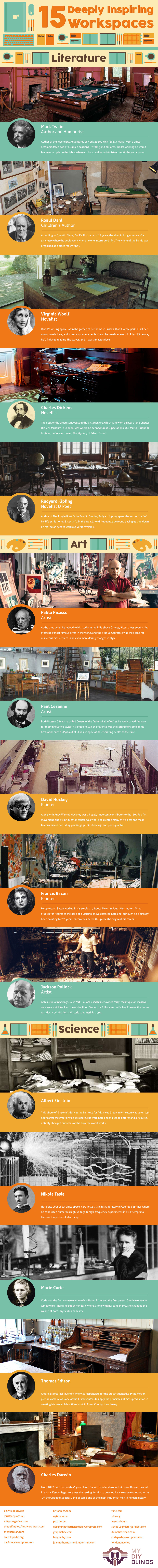 inspiring workplaces infographic